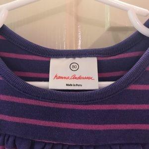 Hanna Anderson Girls Dress Sz 80 (2T)